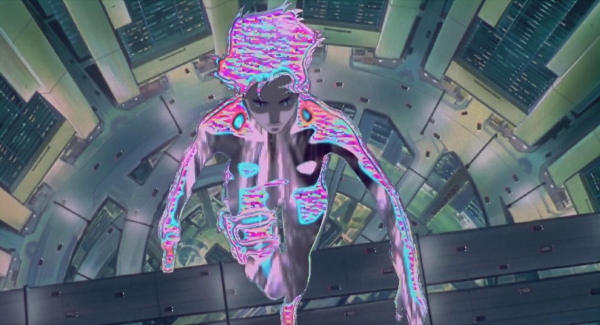 Ghost in the Shell invisibility thingy initializing