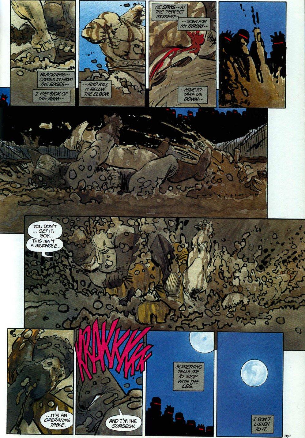 Batman beats mutant leader